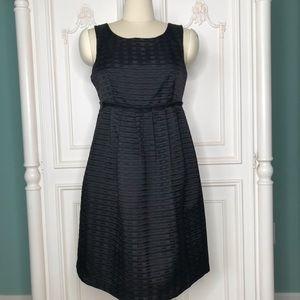 NWOT BCBG Paris Black Textured Little Black Dress